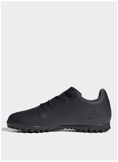 adidas Adidas Erkek Çocuk Siyah-Gri Halı Saha Ayakkabısı Siyah